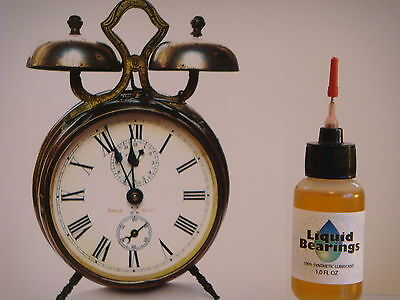 Liquid Bearings, BEST 100%-synthetic oil for Seth Thomas and any clock, READ