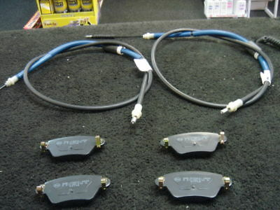 Mondeo Estate Hand Brake Cables Rear &Rear Pads