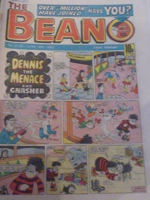 THE BEANO Comic - Issue No 2135 - Date 18/06/1983 - Year 1983 - UK Paper Comic