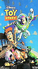 Toy Story and Toy Story 2 videos (VHS, 1996)