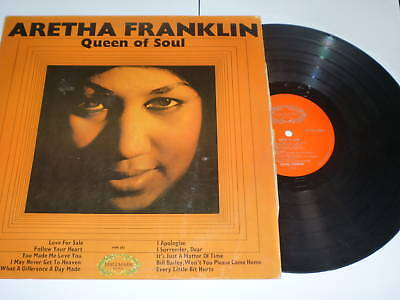 ARETHA FRANKLIN - Queen Of Soul - Scarce 1966 UK LP