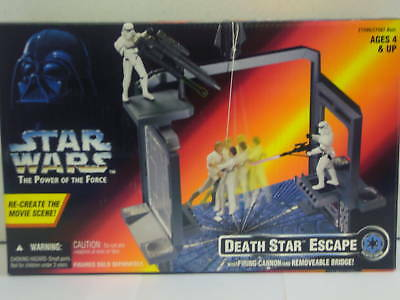 STAR WARS DEATH STAR ESCAPE POWER OF THE FORCE MIB