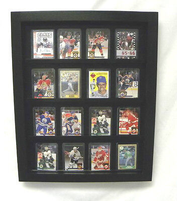 Baseball/ Football Hockey basketball 20 Card display Case
