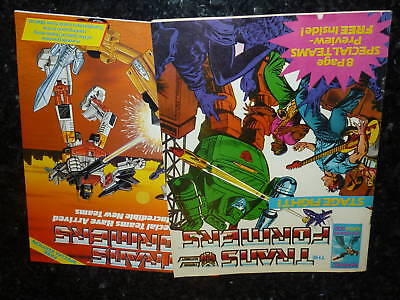 The TRANSFORMERS Comic - No 54 - Date 29/03/1986 - UK Marvel Paper Comic