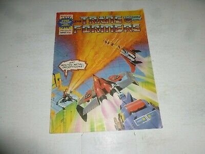 The TRANSFORMERS Comic - No 67 - Date 28/06/1986 - UK Marvel Paper Comic