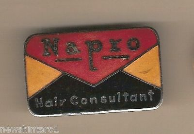 Metal  Badge - Napro Hair Consultant