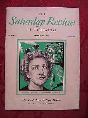 Saturday Review March 15 1947 LOUISE FIELD COOPER DOROTHY THOMPSON