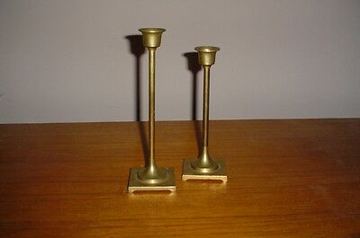 Pair of Vintage Brass Candlesticks LOOK