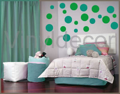 216 Polka dots Vinyl wall art stickers decal circles tg