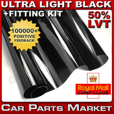 ULTRA LIGHT 50% CAR WINDOW TINT 6M x76CM FILM TINTING