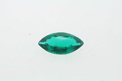 10mm x 5.0mm Marquise Cut Loose Lab Created Emerald