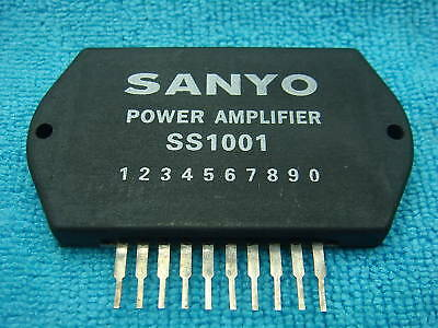 1 Piece Sanyo Ss1001 Power Amplifier Ic Semiconductor