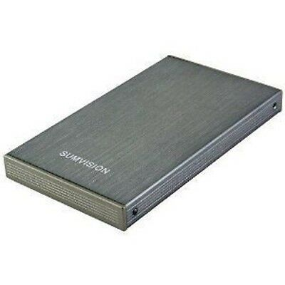 "New 120GB External Portable 2.5"" USB Hard Drive *Grey*"