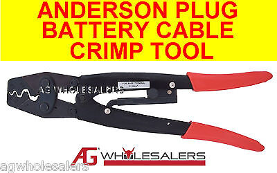 Anderson Plug Cable Battery Lug Crimping Tool Crimp