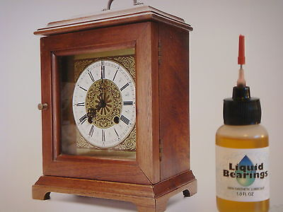Liquid Bearings, BEST 100%-synthetic oil for Ingraham or any clocks, READ!!!