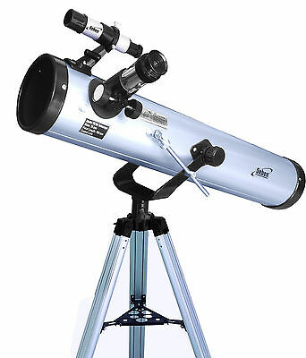 Seben 700-76 Reflector Telescope with many accessories