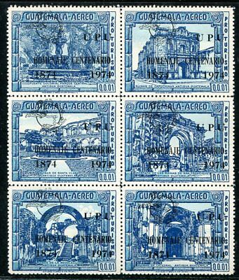 Guatemala 1974 Colonial Views - Upu Centenary Mint Complete!