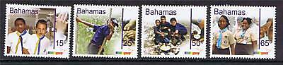 Bahamas 2007 Centenary of Scouting set MNH
