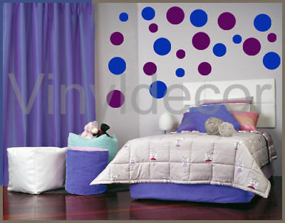216 Polka dots circles Vinyl wall art sticker decor  bv