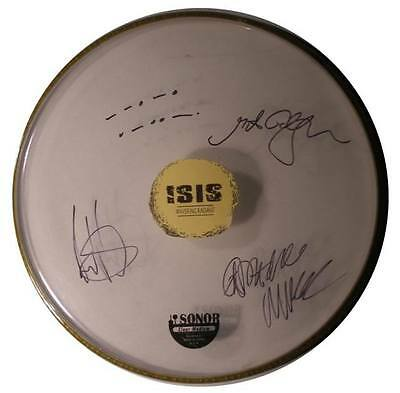 Signed Isis Band Autographed Drumhead By All W/pics