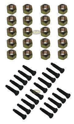 "5/8 Wheel Stud Lug nut kit Racing Lugnuts Studs IMCA UMP USMTS 5/8"" Coarse"