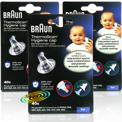 120 Braun ThermoScan Ear Thermometer Lens Filters LF40
