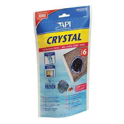 API Crystal Carbon Bio Chem Zorb For Clear Water Size 6
