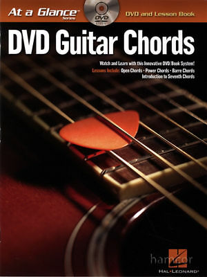 DVD Guitar Chords at a Glance with TAB Lesson Book