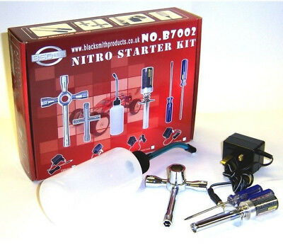 RC Nitro Starter Kit Glow Start Starter Charger 350cc Refill Bottle R/C 2100mah