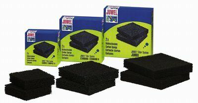 Juwel Jumbo Carbon Pads Pack of 2 100% Genuine