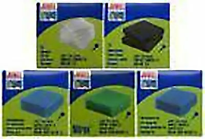 Complete set of Juwel Standard Pads poly carbon fine coarse cirax large L