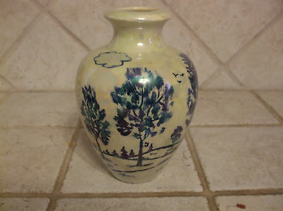 Rare Queen Pottery Arts And Crafts Artist Signed