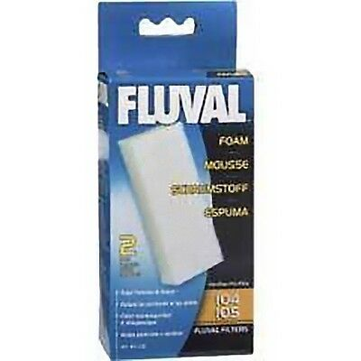 Fluval 104 105 106 External Filter foam pack of 2 GENUINE