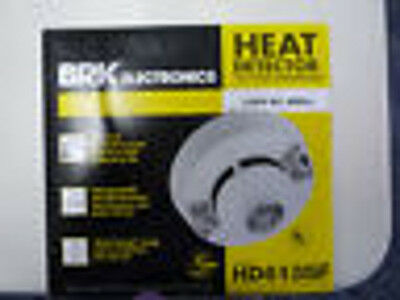 BRK HD6135F Heat Detector Alarm, AC Powered