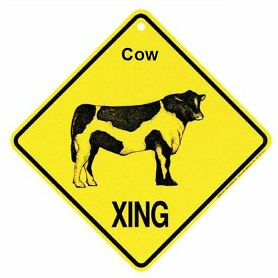 Cow  Xing Sign  Crossing Sign  NEW