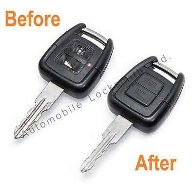 For Vauxhall Zafira Astra Vectra 2 Button Remote Key Fob REPAIR FIX SERVICE Opel