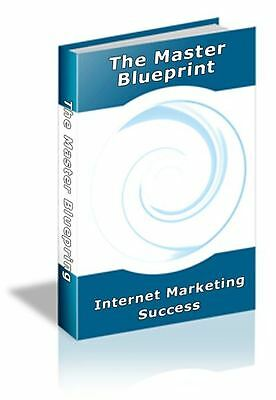 The MASTER BLUEPRINT Reveals Internet Marketing Secrets For Your Success (ON CD)