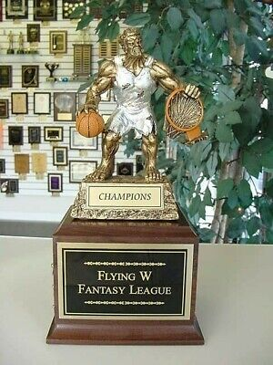 Fantasy Basketball  Perpetual Trophy 16 Years Monster!