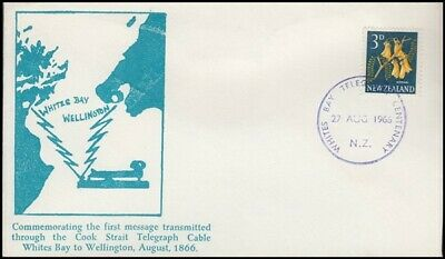 New Zealand Cover 1966 Cook Strait Telegraph Cable