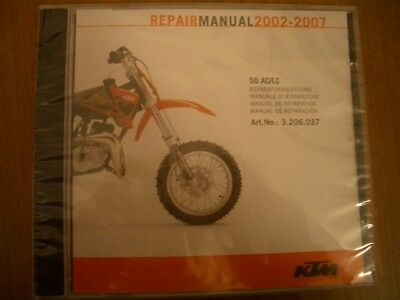 ^ KTM Repair Manual CD-Rom 250 SX-F, 2005-2006