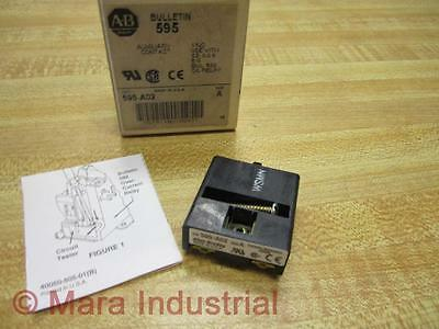 Allen Bradley 595-A02 Auxiliary Contact 595A02