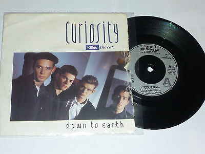 CURIOSITY KILLED THE CAT - Down To Earth - 1986 UK 7""
