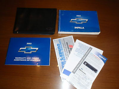 2002 chevy impala owners manual 13 47 picclick rh picclick com 2002 chevy impala 3.4 owner's manual 2002 chevrolet impala owners manual pdf