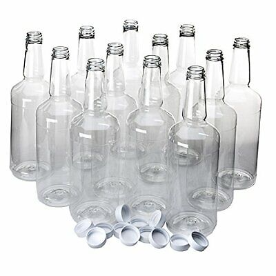 Dozen Plastic Bottles for Serving Shaved Ice / Sno Cone