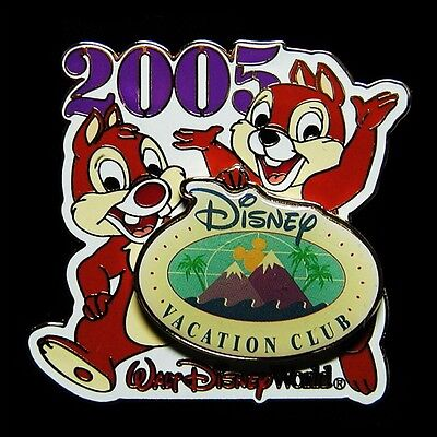 2005 Chip & Dale Vacation Club Exclusive Disney Pin