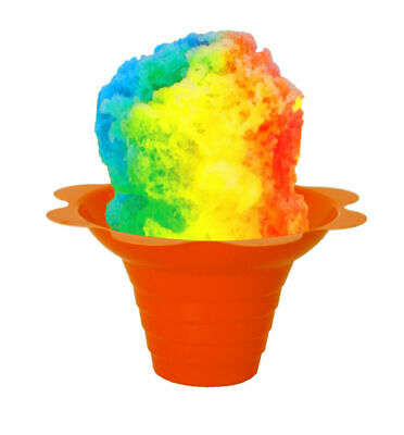 Flower Cups for Serving Shaved Ice or Snow Cones 4 oz