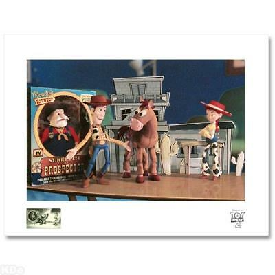 DISNEY TOY STORY WOODY'S FINEST HOUR LE GICLEE PP 19/25