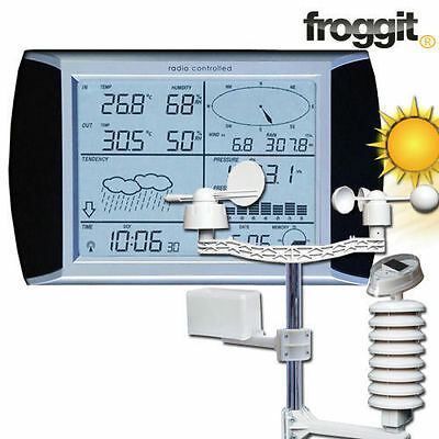 Profi Wetterstation WH1080 Touchscreen Funk USB PC