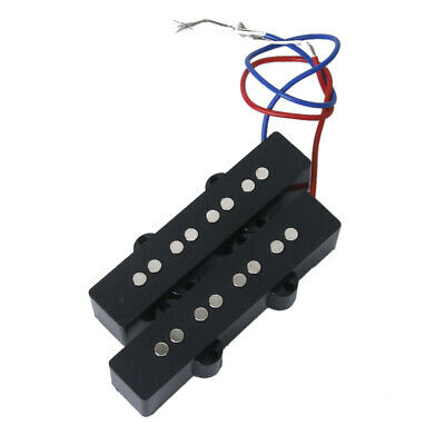 Schwarz HUMBUCKER SET PICKUP 4 String für Jazz Bass