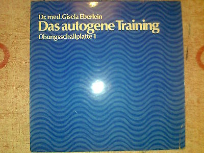Vinyl-LP - Eberlein - Das autogene Training - Platte 1